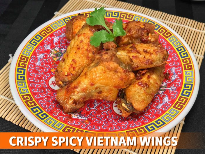 crispy spicy vietnam wings