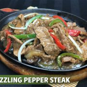 sizzling pepper steak