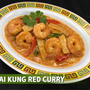 thai kung red curry