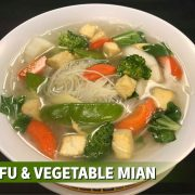 tofu vegetable mian